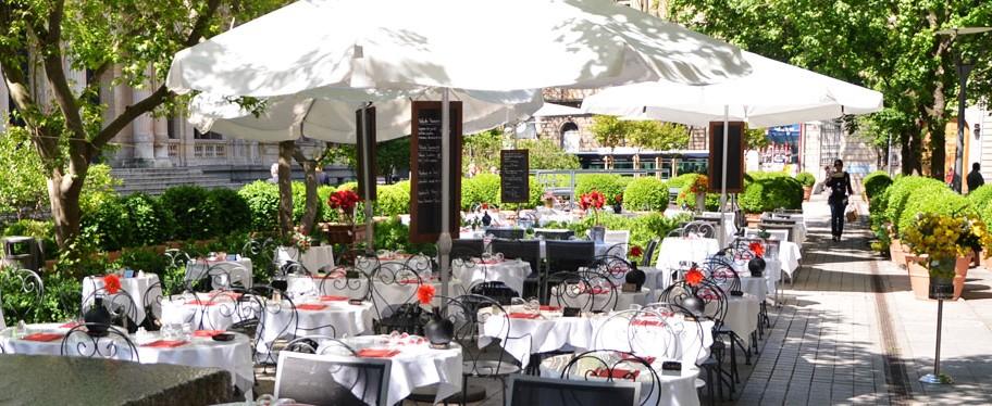 Le cintra restaurant piano bar lyon for Restaurant terrasse lyon